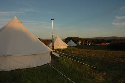 Camping and glamping on the beautiful Loop Head Peninsula in County Clare.