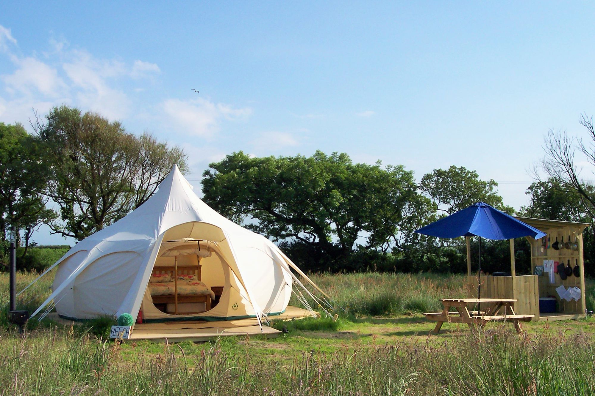 Glamping in Ilfracombe – Cool Camping