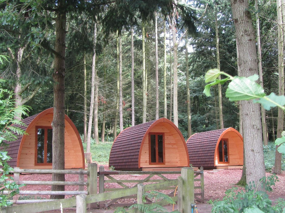 Glamping pods, Scandinavian lodges and regular camping and caravanning, Woodside Country Park in Herefordshire has something for everybody.