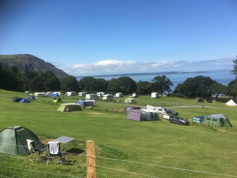 Trwyn Yr Wylfa Caravan & Camping Site Trwyn-Yr-Wylfa, Conway Old Road, Penmaenmawr, Conwy LL34 6SF