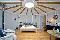 Unique roundhouse glamping near the Cornish coast