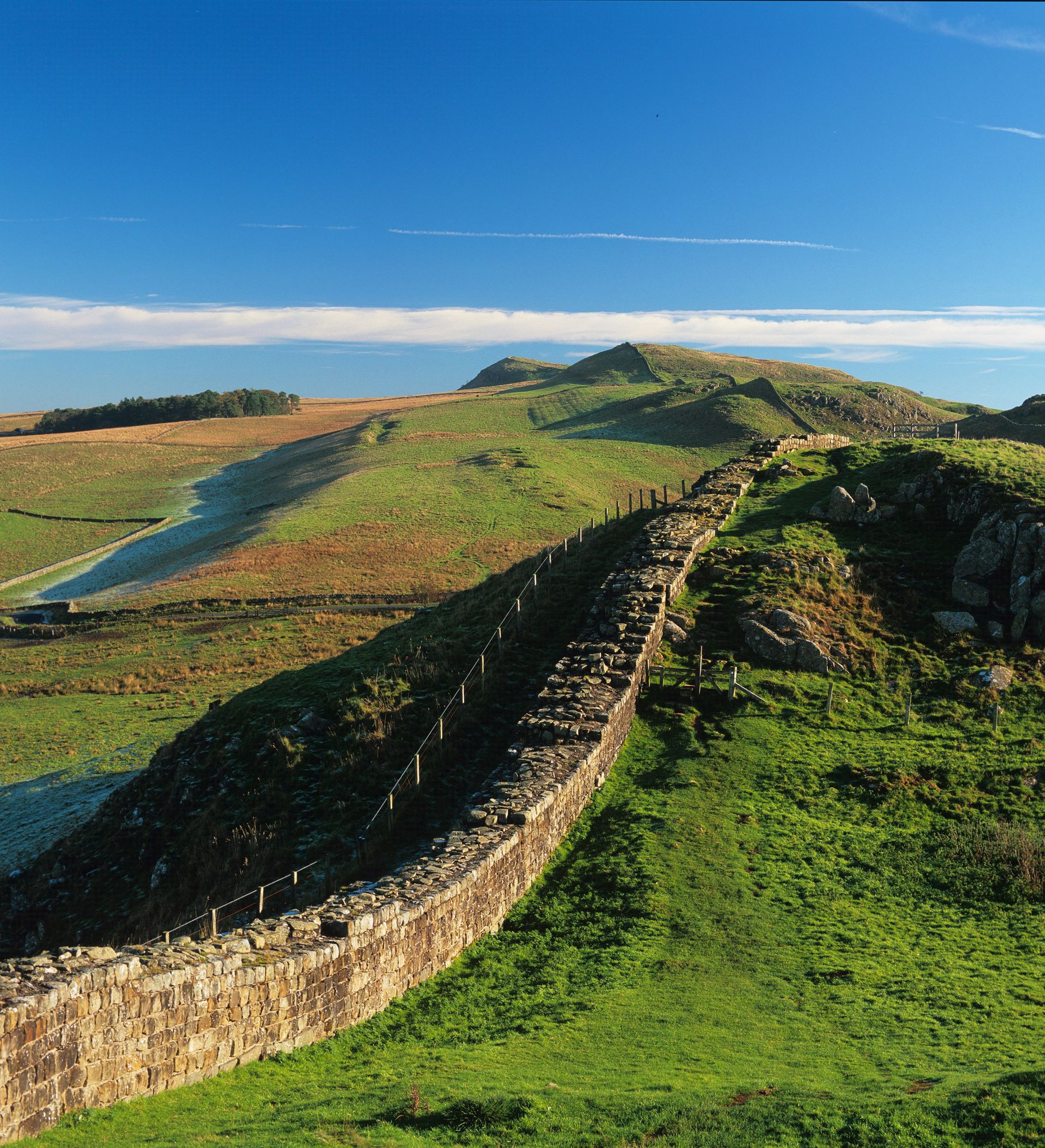 In AD122, Northumberland represented the farthest reaches of the Roman Empire under Emperor Hadrian.