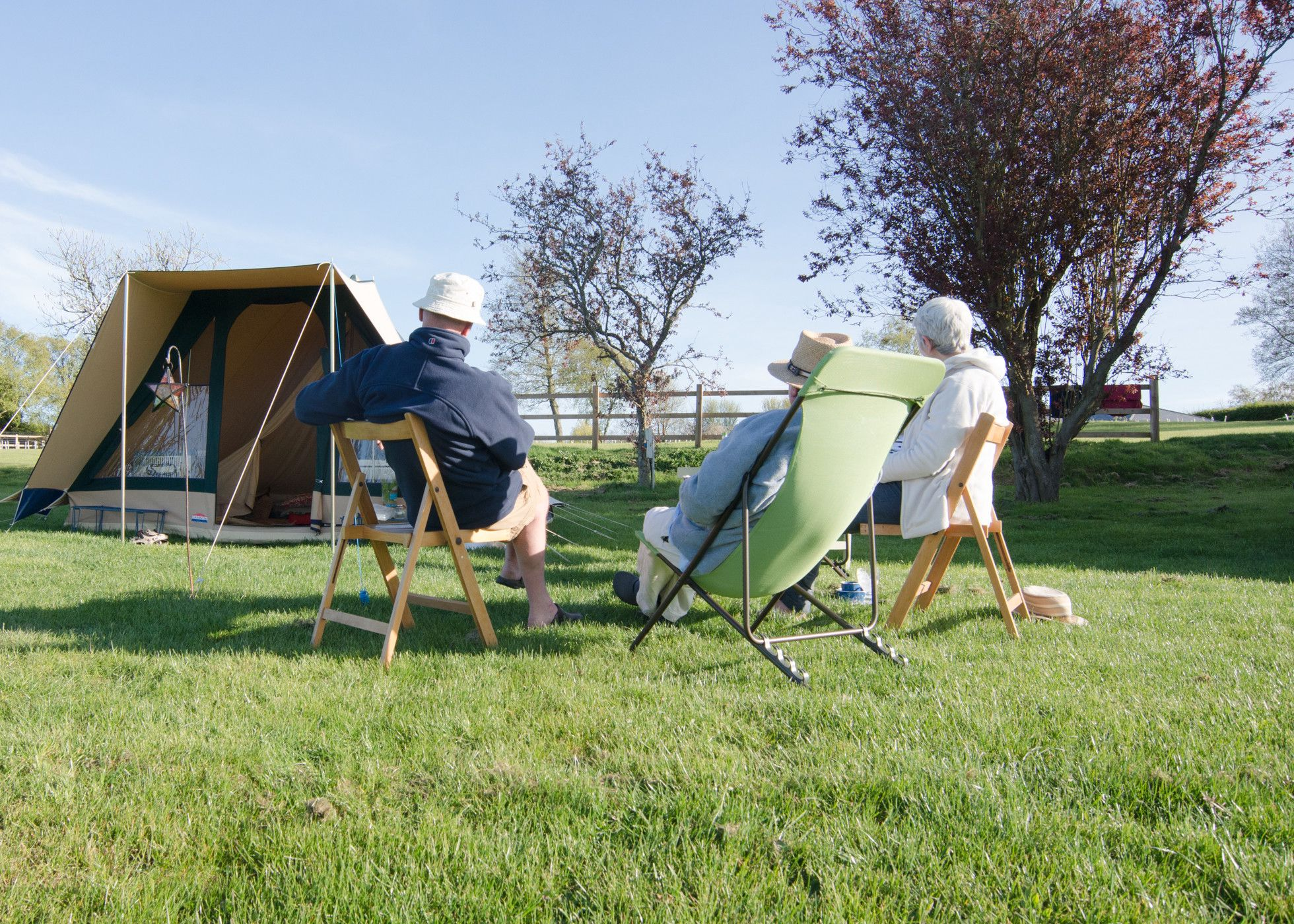 A stunning, family-friendly campsite on the stunning, family-friendly Isle of Wight.