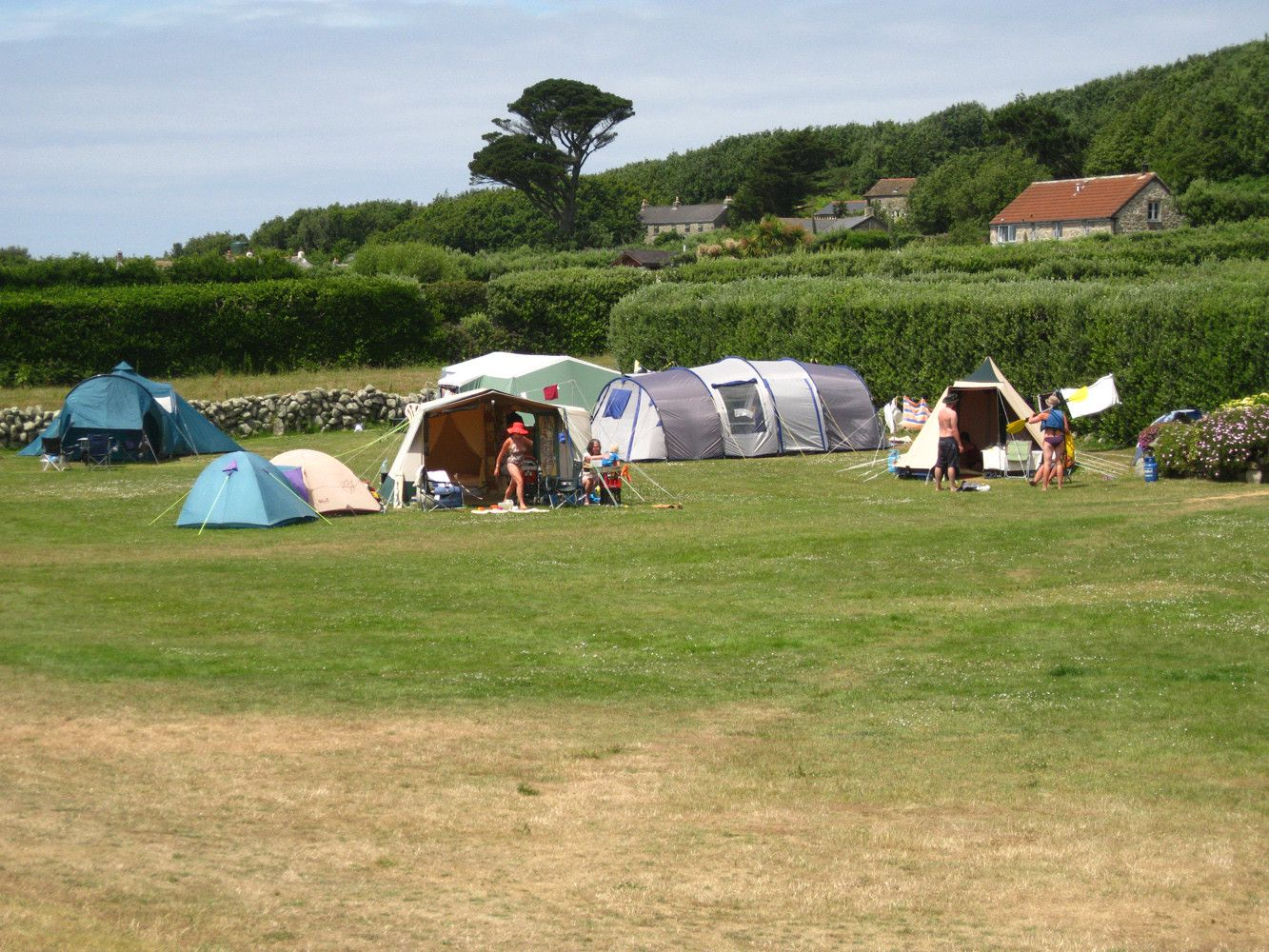 Campsites in St Martin's holidays at Cool Places