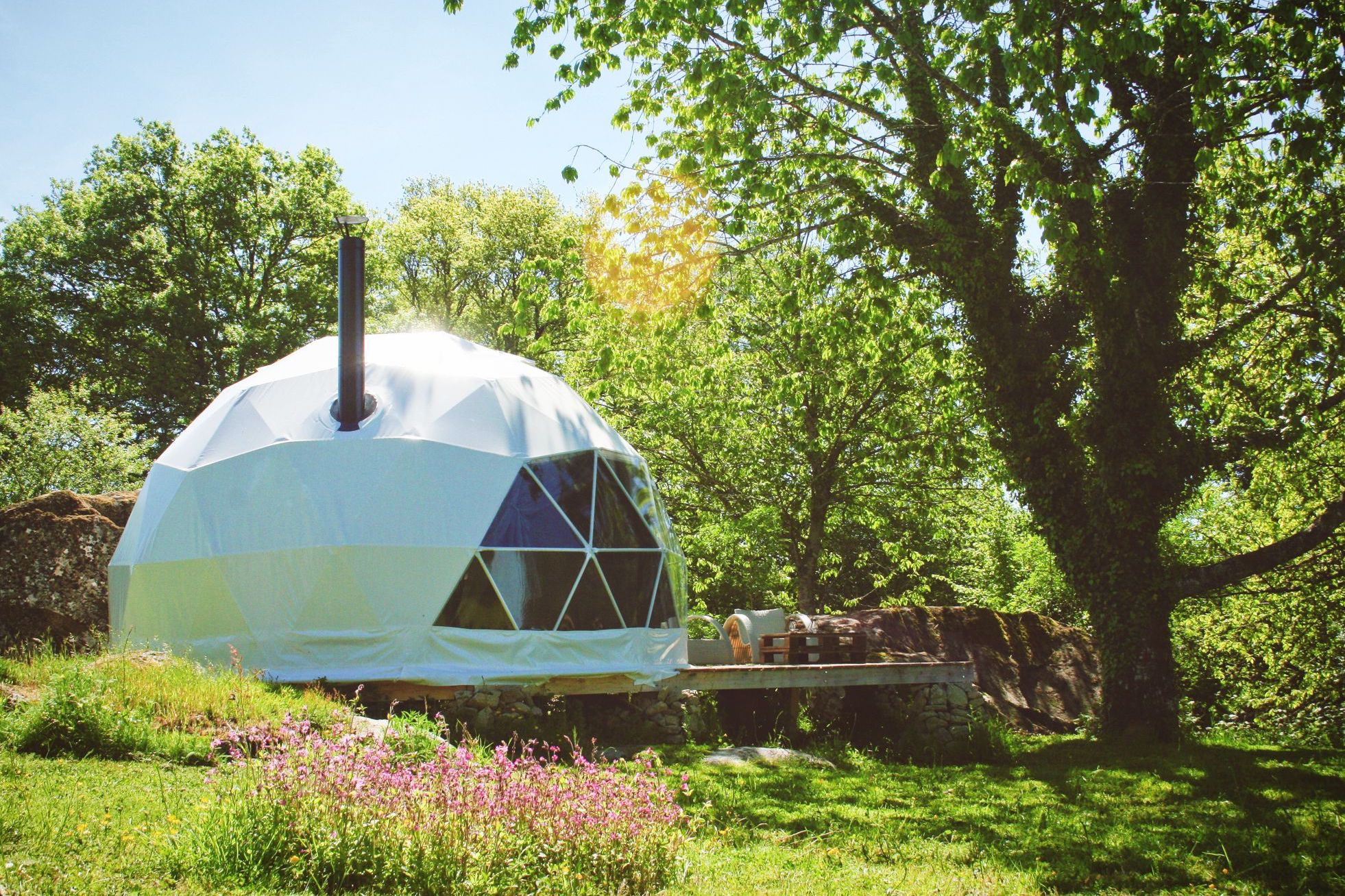 Dome Glamping in France