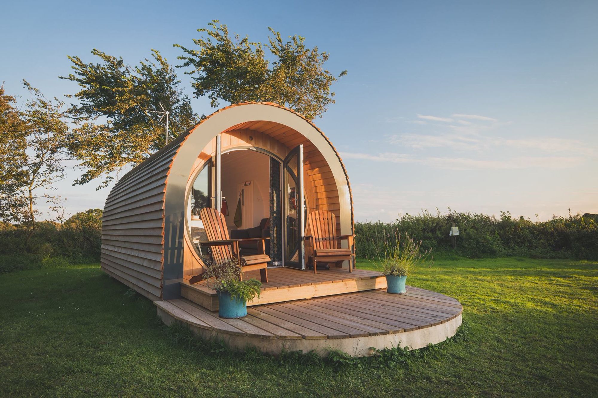 Glamping in South Wales