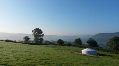Ffrith Galed Yurts Ffrith Galed, Llanddoged, Llanrwst, Conwy LL26 0BX