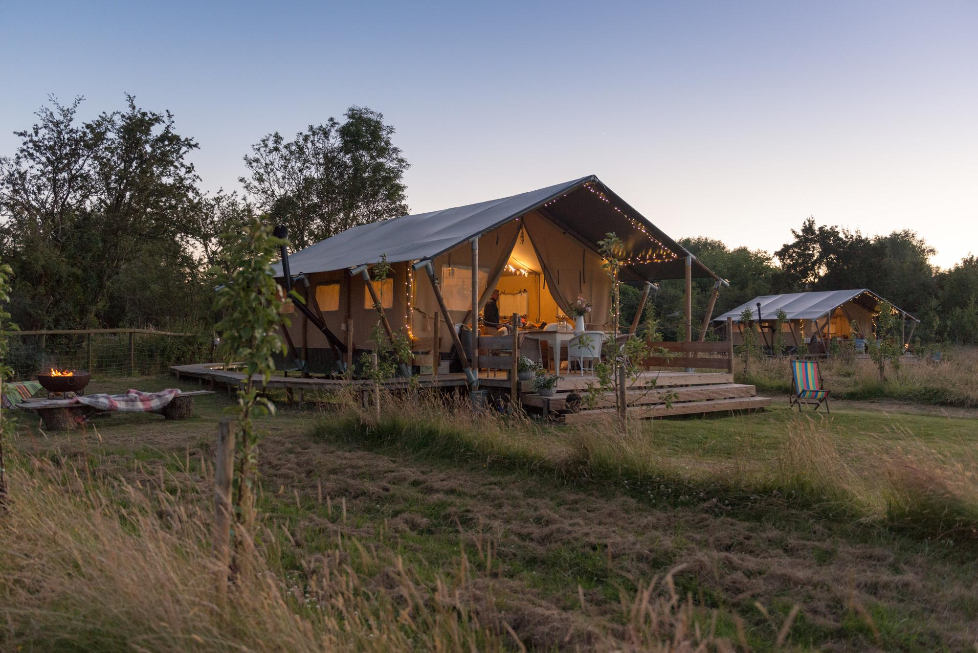 Glamping in Upton-Upon-Severn holidays at Cool Places
