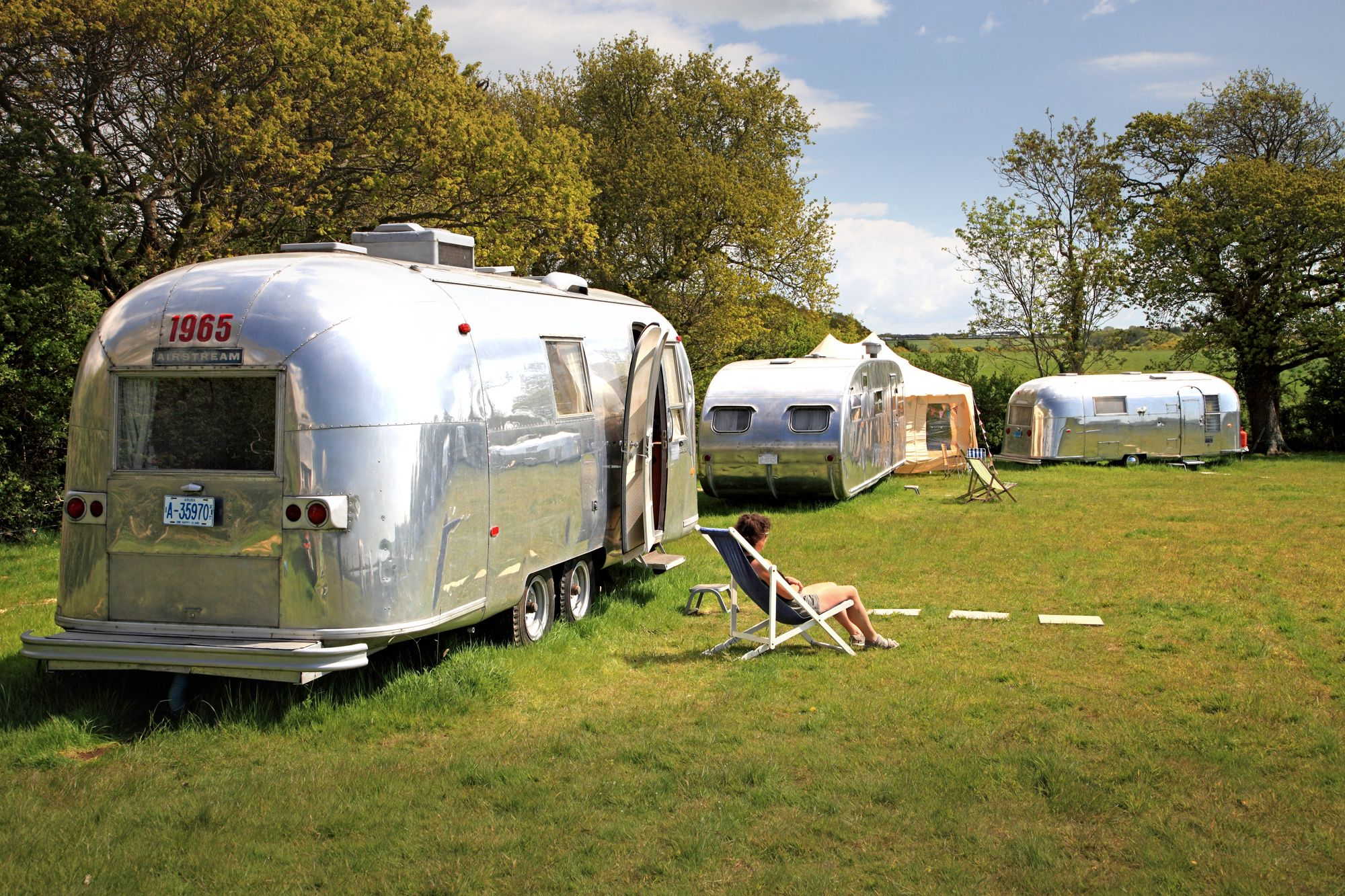 If you fancy some real escape, then take a trip to another time and get retro, old-school cool in some classic Airstream trailers at Vintage Vacations on the Isle of Wight.