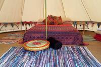 Bell Tent - Fully furnished
