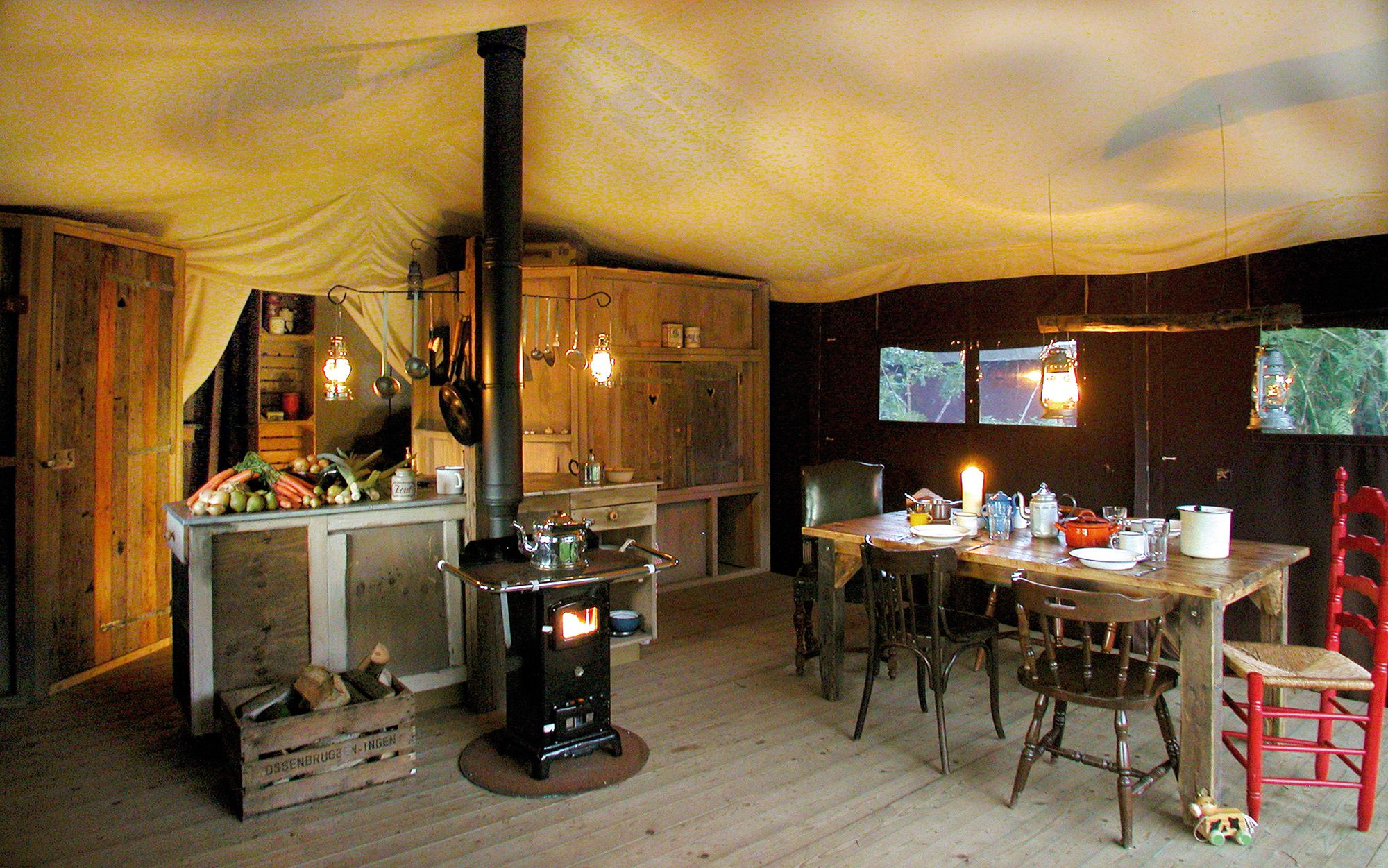 Feather Down Farm's East Shilvinghampton Campsite