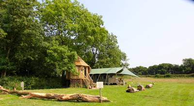 The combination of fairy tale romance, five star indulgence and outdoor adventure makes The Dandelion Hideaway one of the UK's finest glamping getaways.