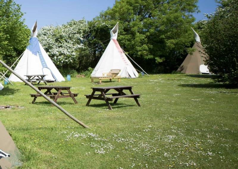 Large Tipi 3 - Village Field