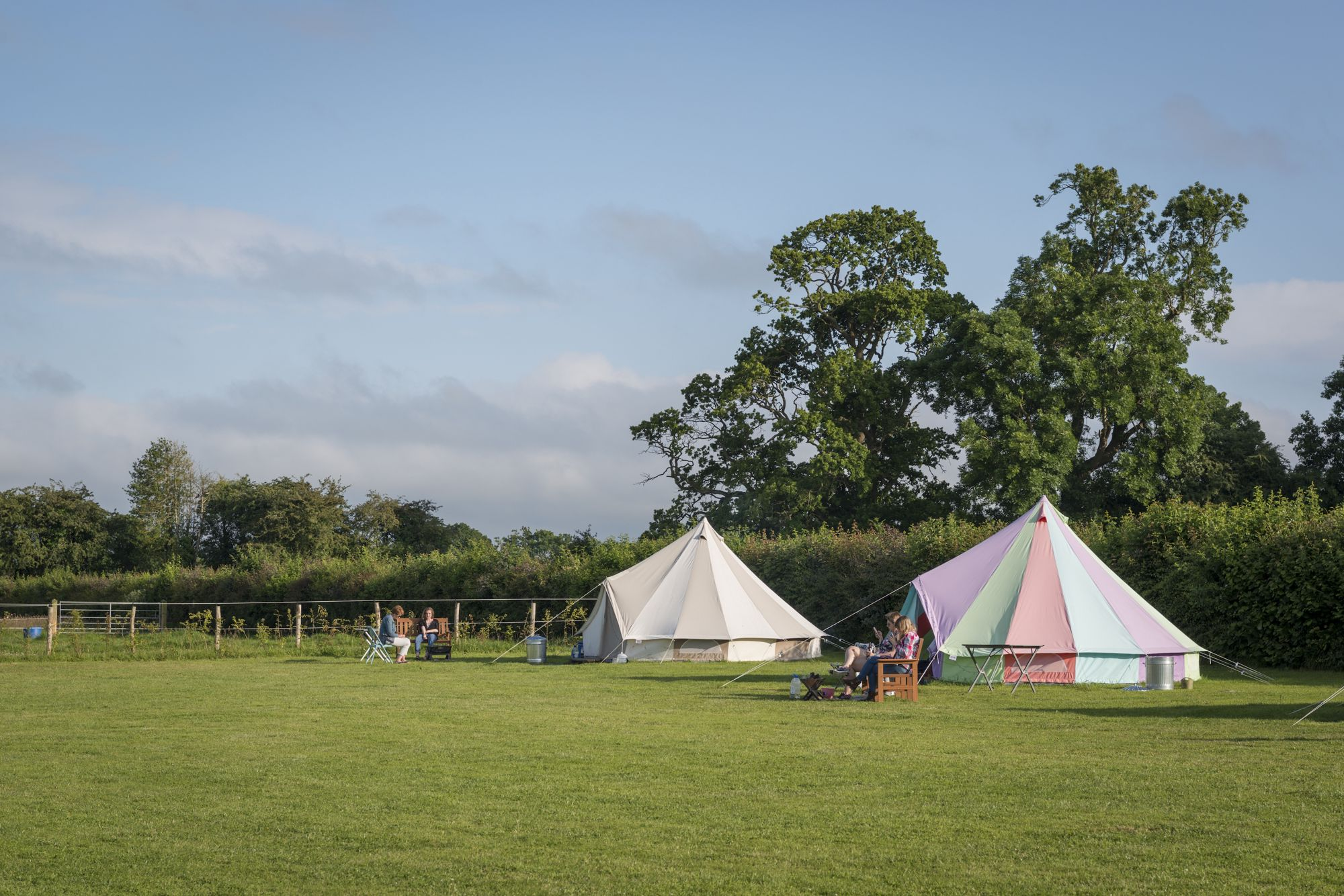 Situated amidst beautiful Wiltshire farmland, Botany Camping is a small 10 pitch site just a stone's throw from Longleat House and Safari park.