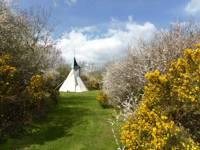 White Blossom Yurt