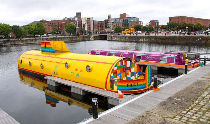 The Yellow Submarine Albert Dock Liverpool L3 4AS