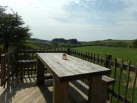The Drovers Hut and hot tub