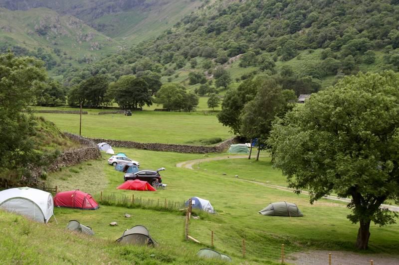 Sykeside Camping Brotherswater, Hartsop, Penrith CA11 0NZ