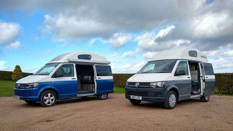 Val's Holiday Vans Forcett, Richmond, North Yorkshire DL11 7SQ