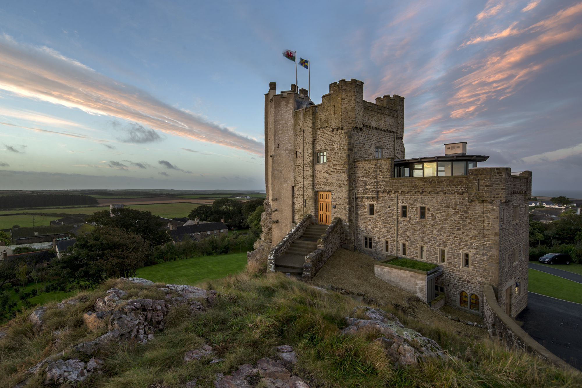 Win a 2-night Stay at spectacular Roch Castle!