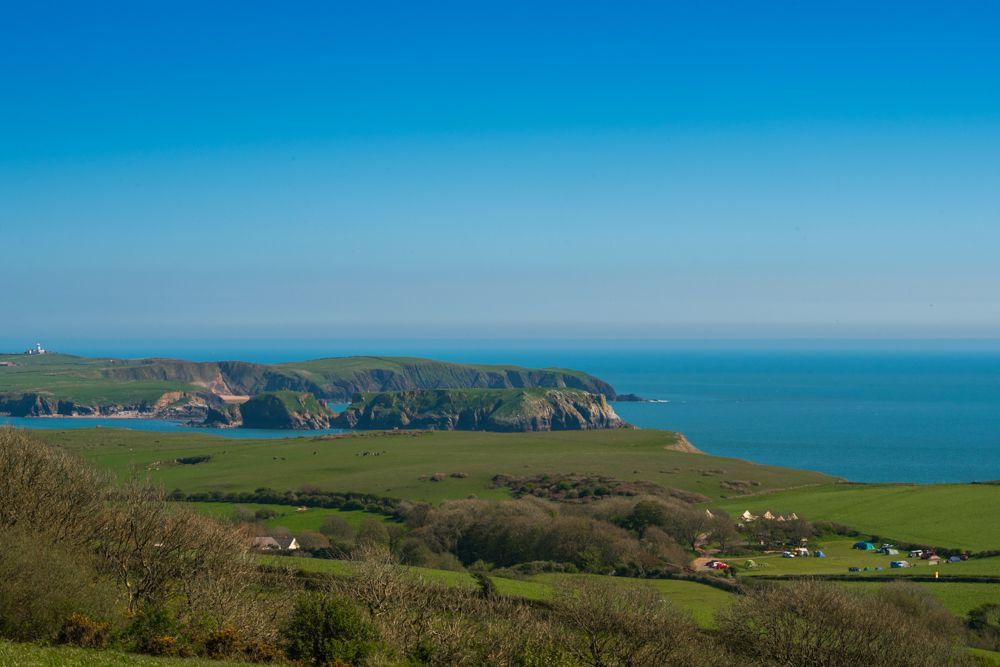 Campsites in Tenby – Glampingly