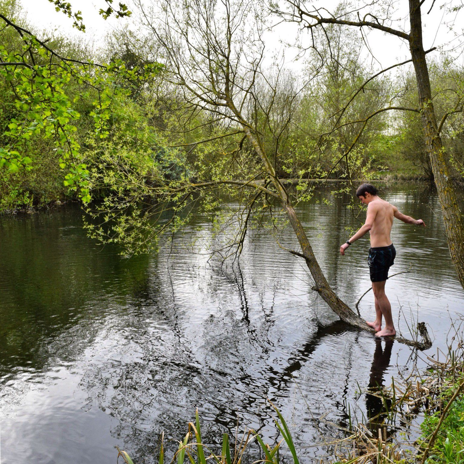 Wild Swimming near the M25