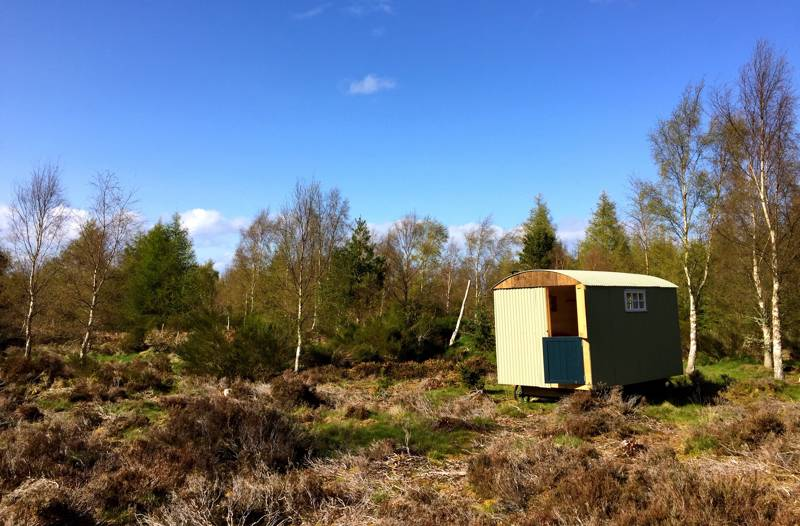 Glamping in the Scottish Highlands