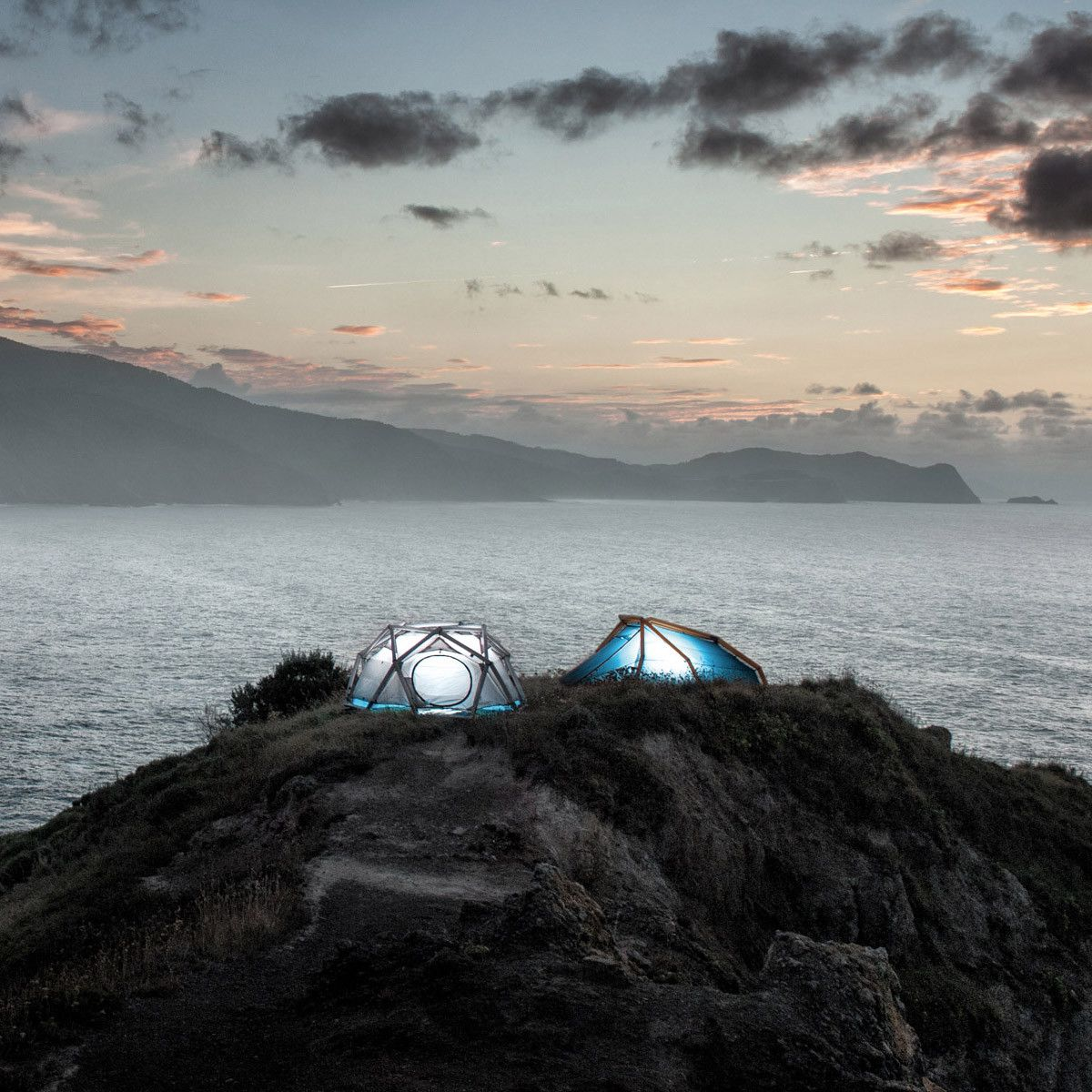 The rise & rise of inflatable tents