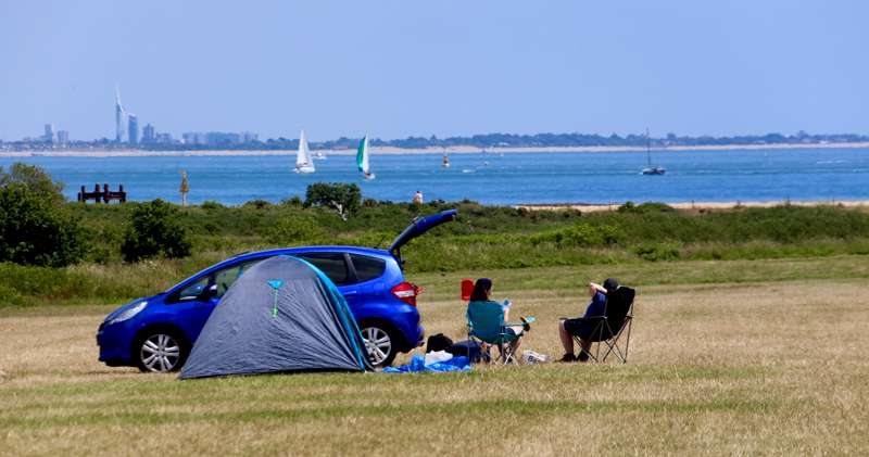 Lepe Beach Campsite Lepe Beach Campsite, Lepe Road, Southampton, Hampshire SO45 1AD