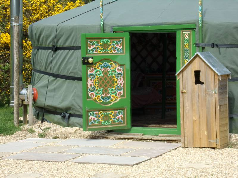Mongolian Yurt with Hot Tub