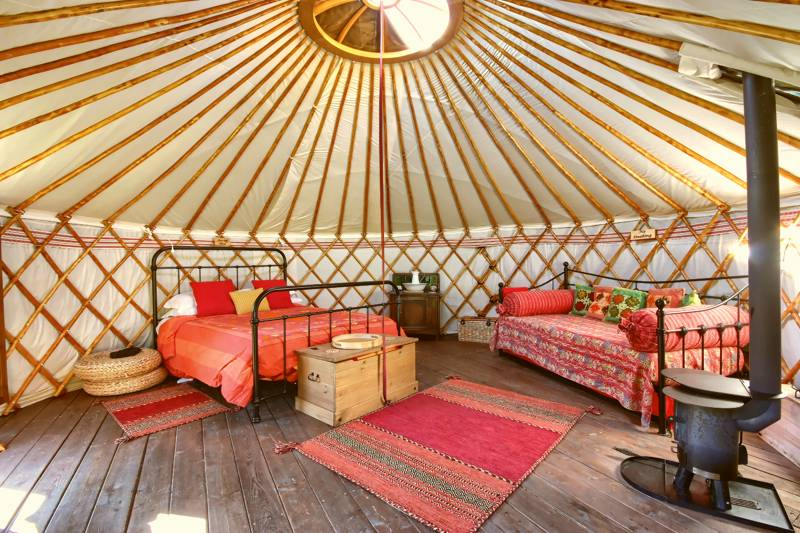 Periwinkle Luxury Yurt