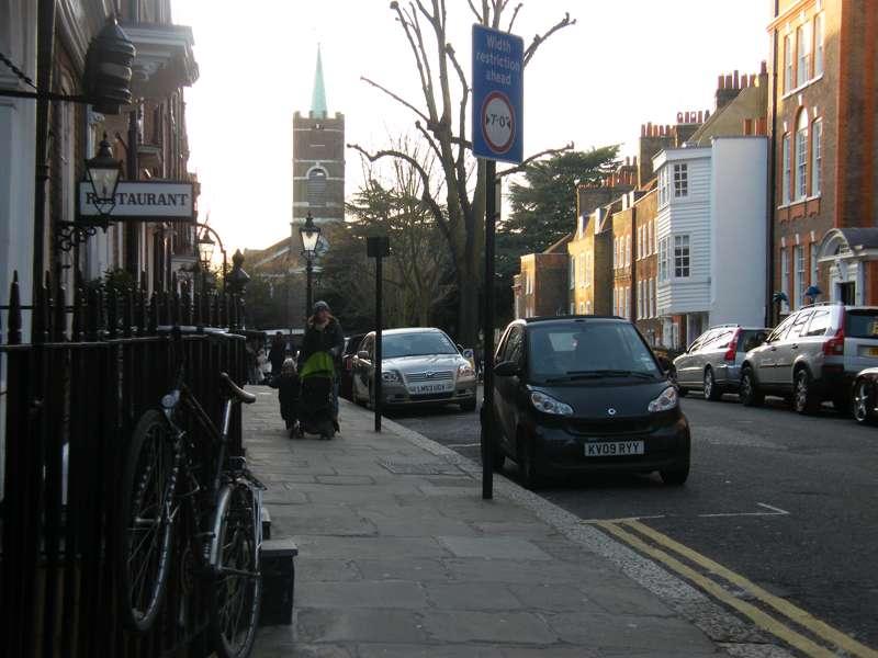 Church Row and around