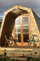 Pod eco-glamping on the Orkney Islands