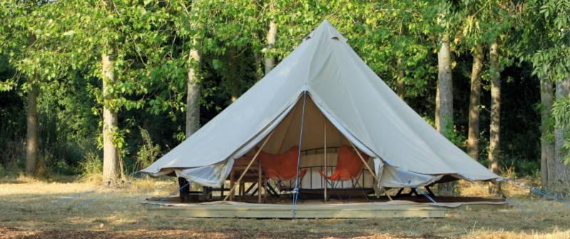 Safari Themed Glamping Tent