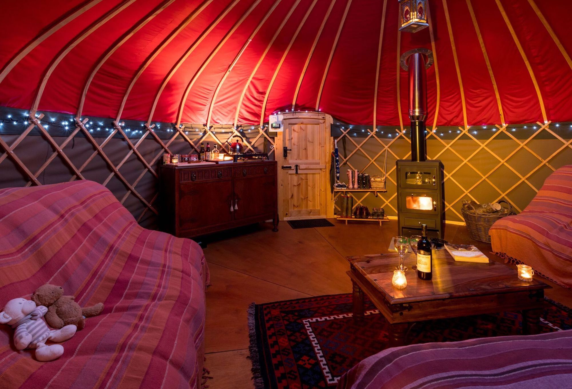 Long Valley Yurts - Low Wray on Windermere