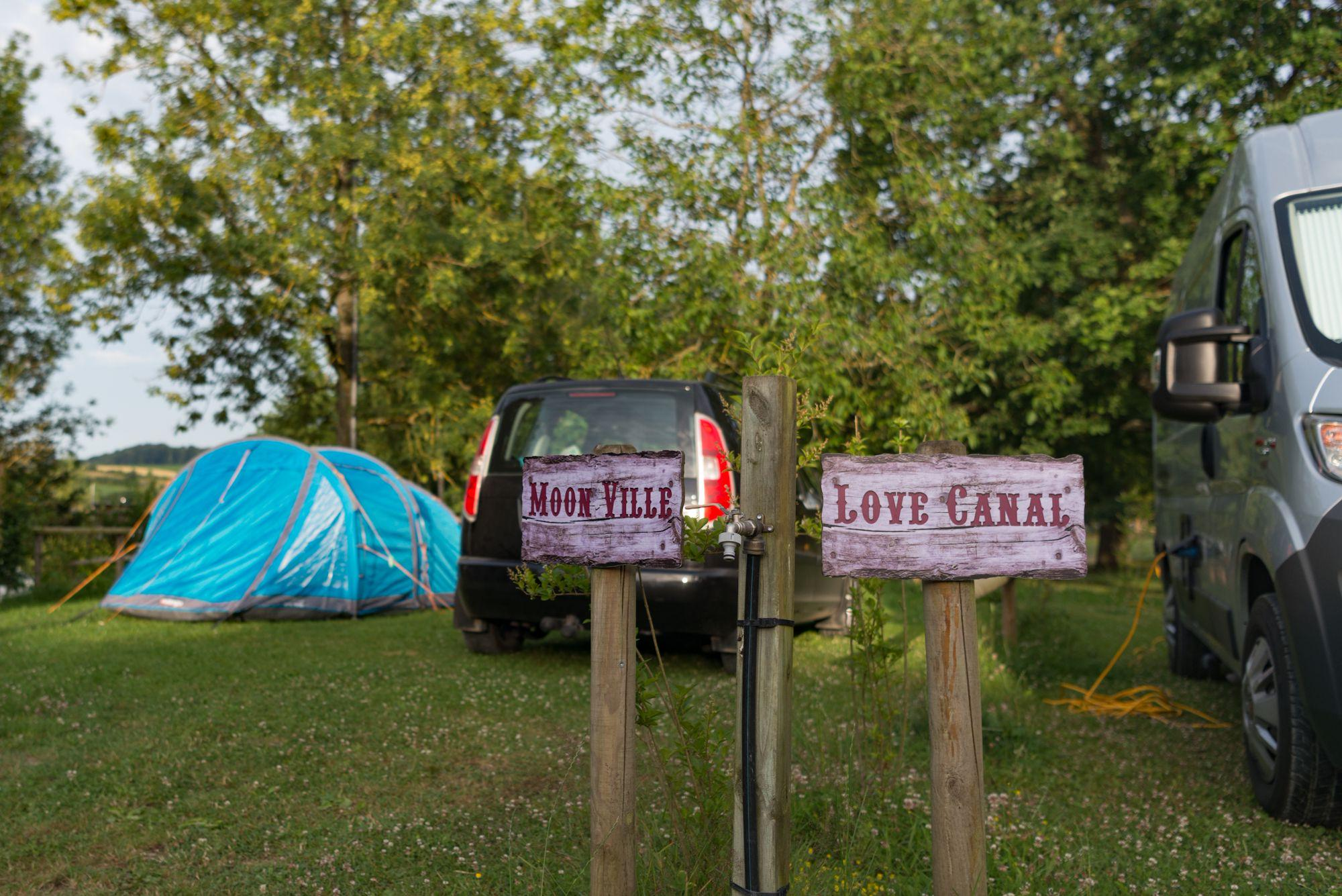 Campsites in Picardie