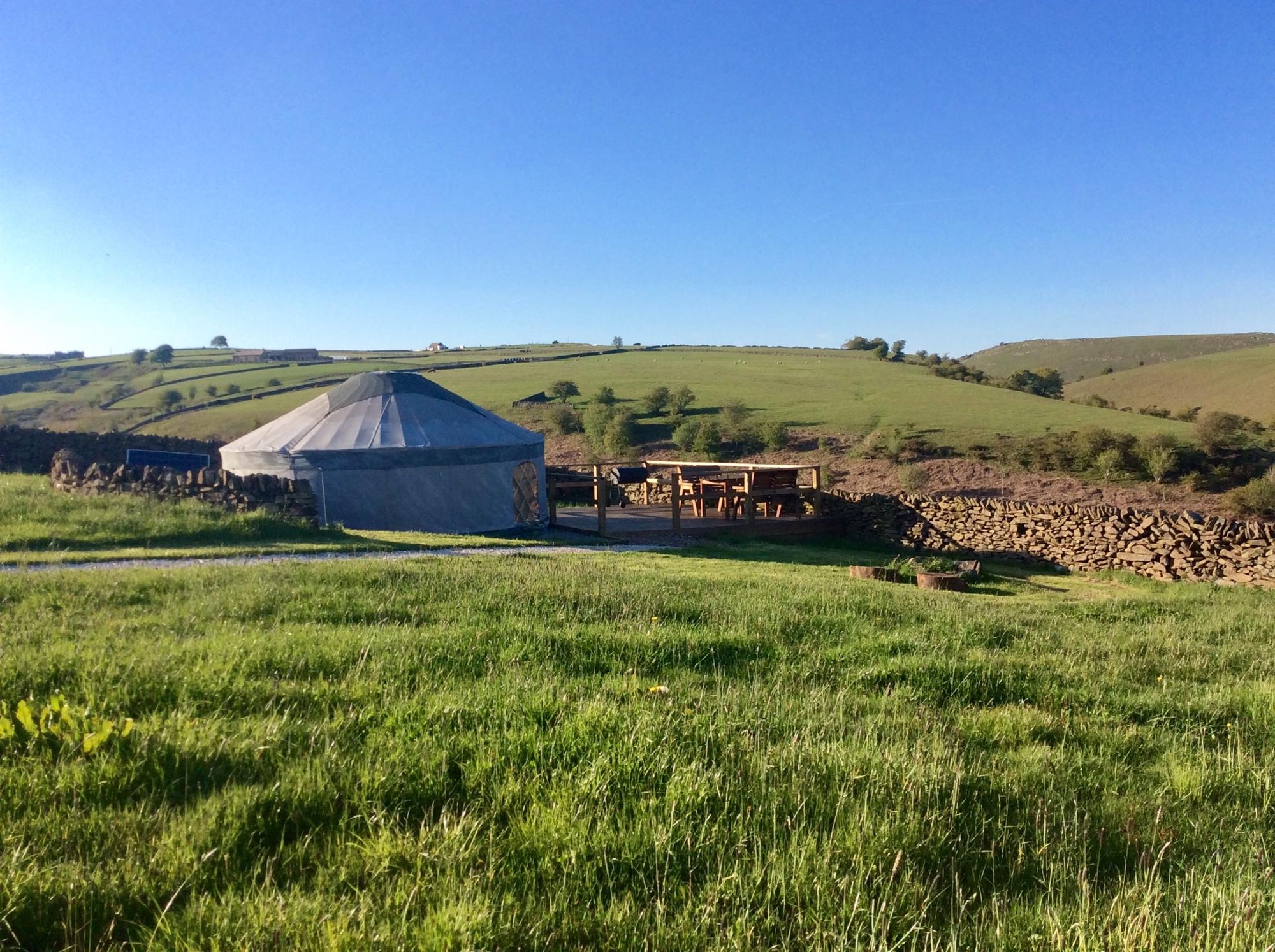 Glamping in Buxton – Cool Camping