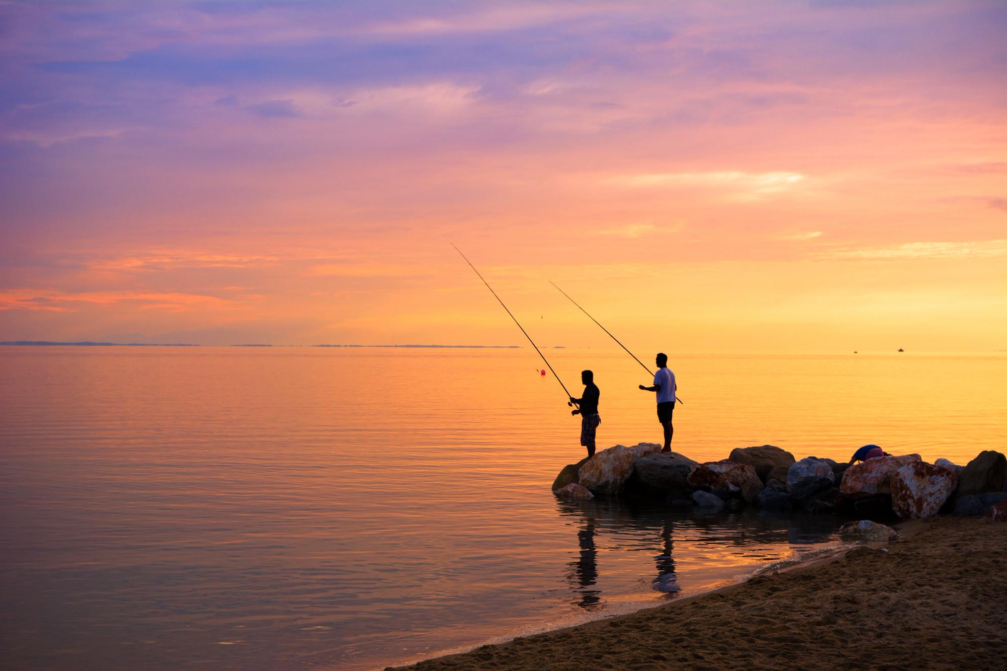 Campsites with fishing nearby - the best campsites for anglers