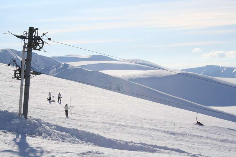 On the Piste in Scotland