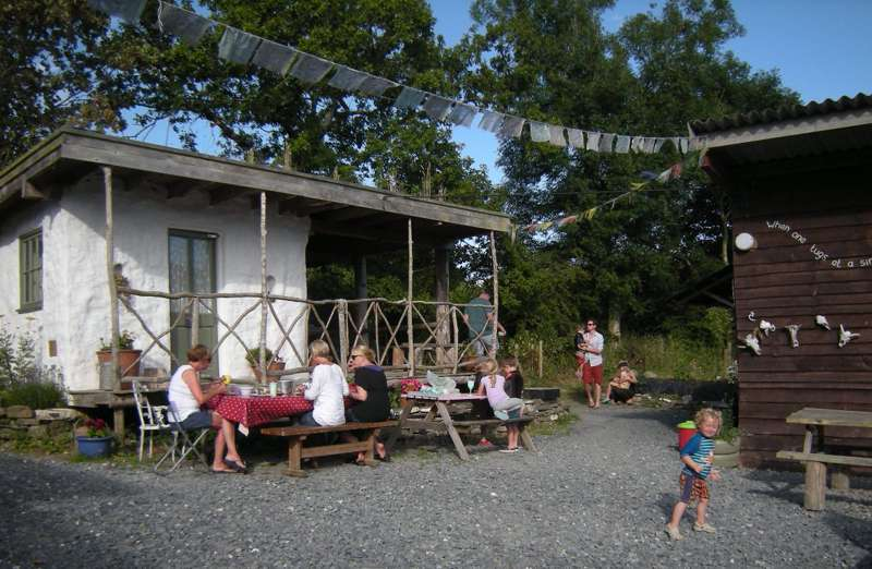 Ty Coed Lodges at Naturesbase