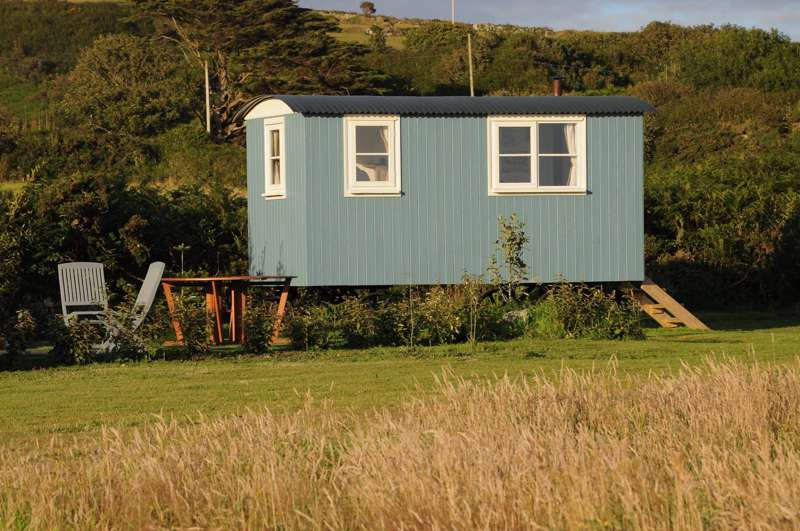 Shepherd's Huts in Cornwall