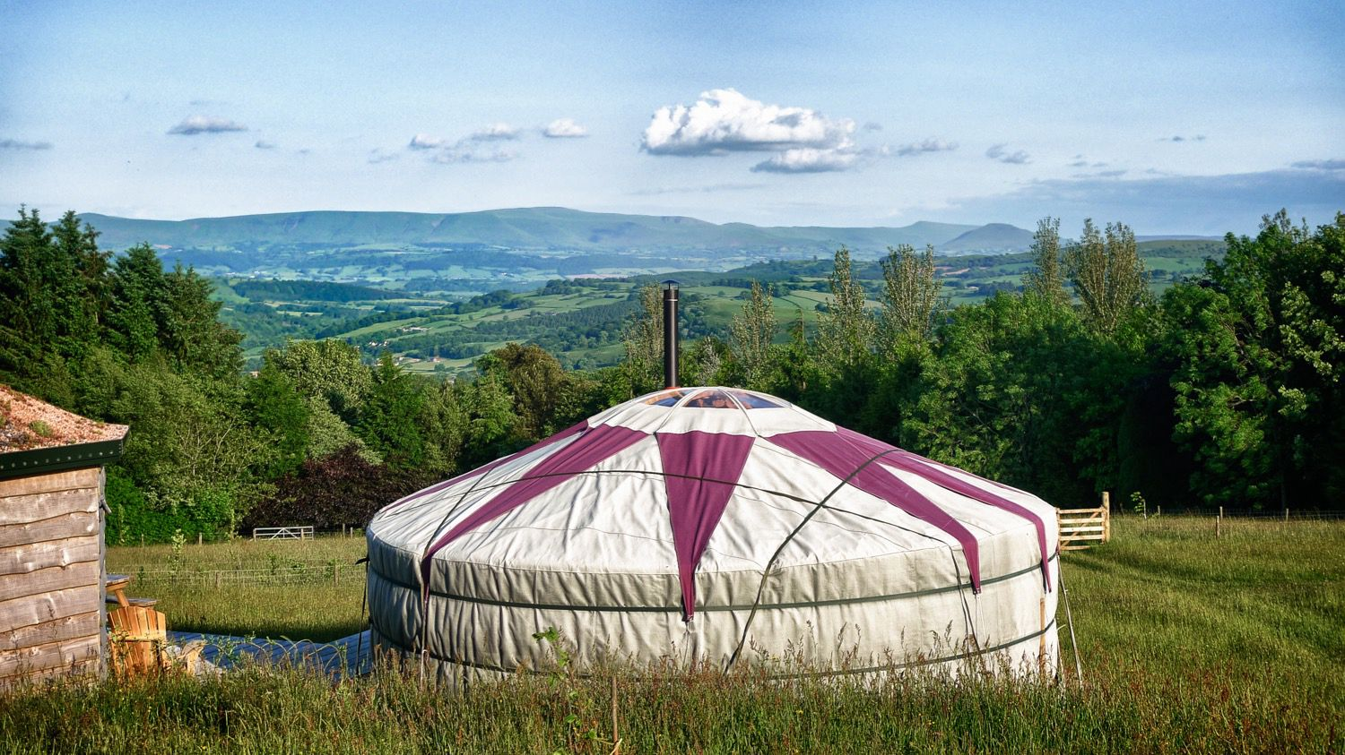 Yurts in Wales