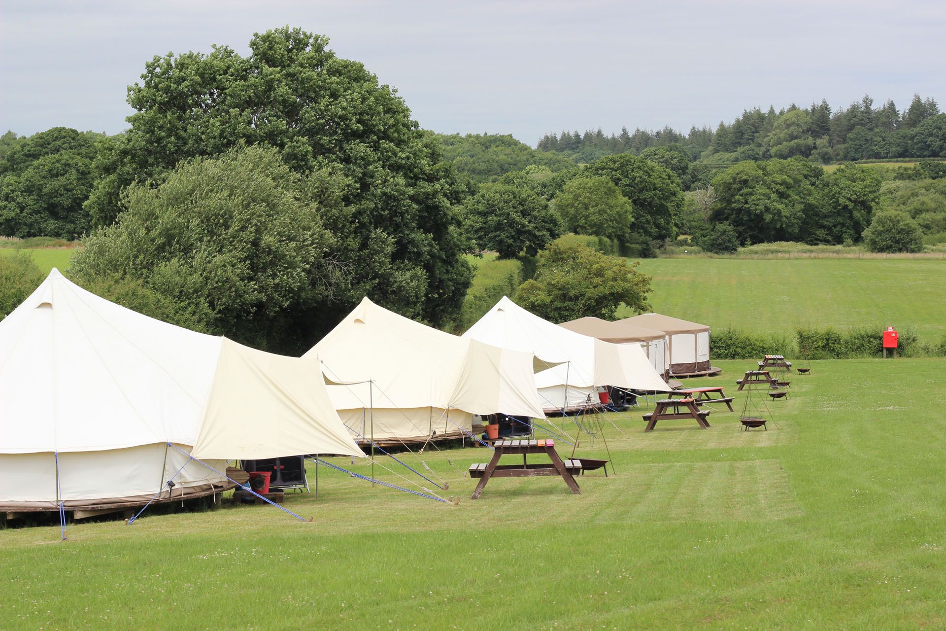 Campsites in Ferndown holidays at Glampingly