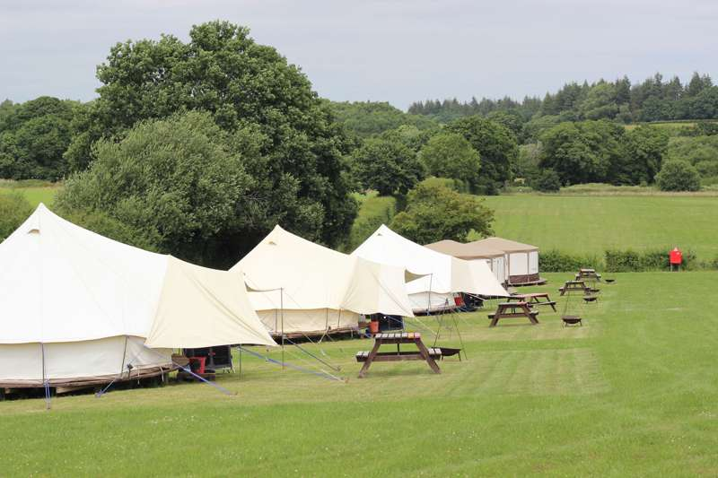 Meadow View Glamping Meadow View Camping and Caravan Park, Wigbeth, Horton, Wimborne, Dorset, BH21 7JH.