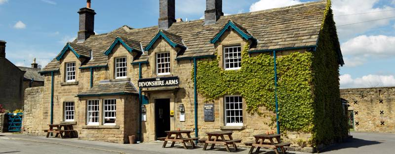 Devonshire Arms at Pilsey Pilsley Bakewell Derbyshire DE45 1UL