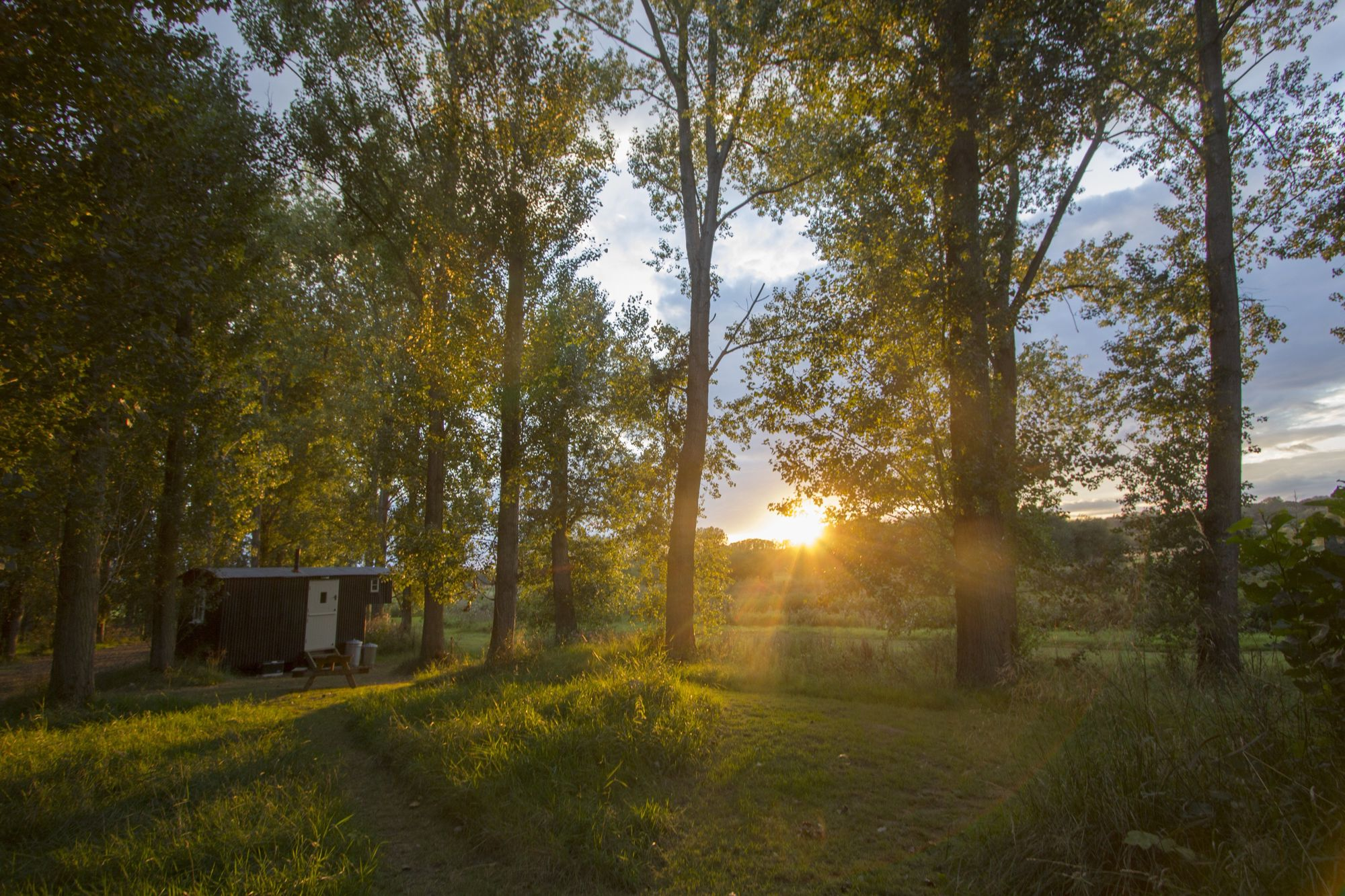 Glamping in Bodiam holidays at Cool Camping