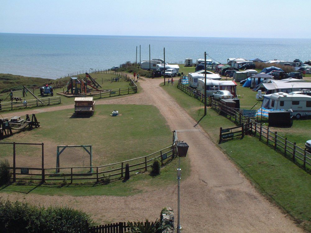 Campsites in Isle Of Wight holidays at Cool Places