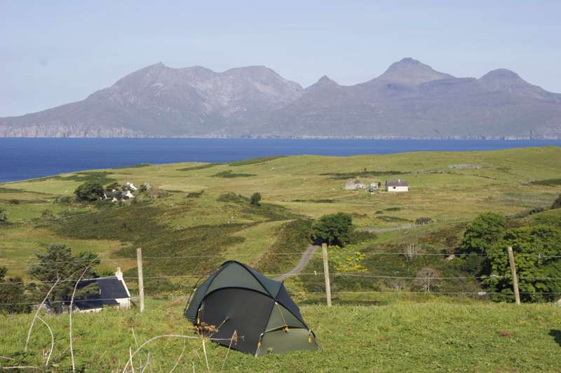 Campsites in Isle Of Eigg – Eigg's best camping locations – Cool Camping