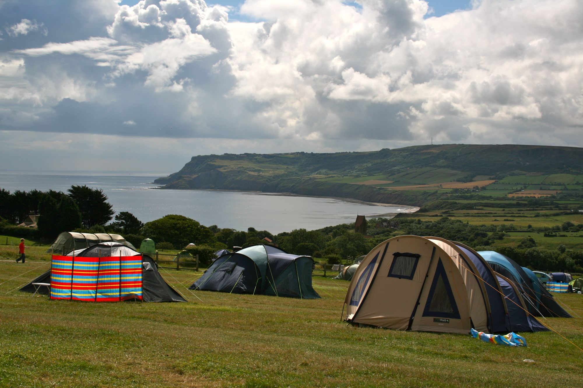 Campsites in Robin Hood's Bay holidays at Cool Camping