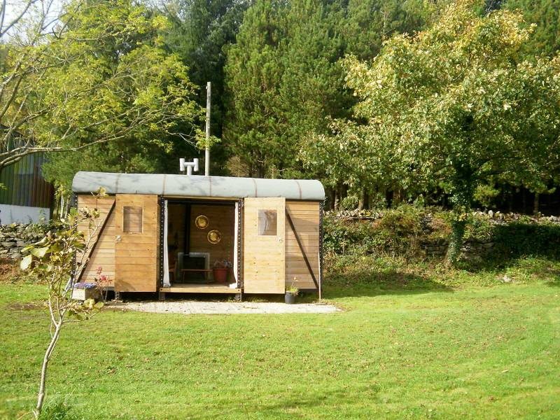 Rail Camping Pod. No under 13 years.